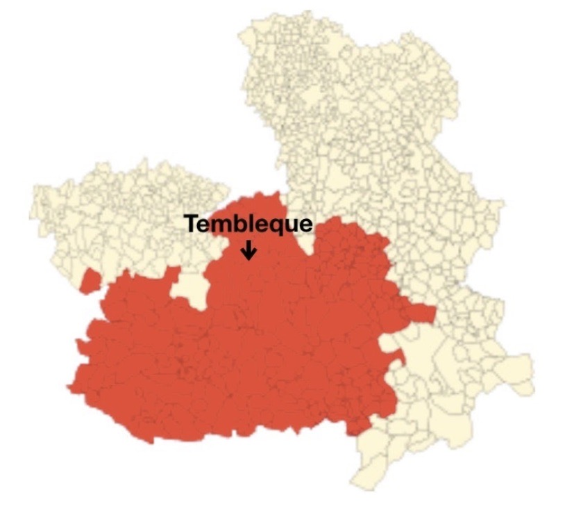 La región de La Mancha y Tembleque