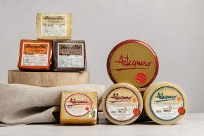 Conjunto de quesos de Artequeso y Buenalba
